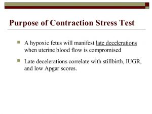 contraction stress test